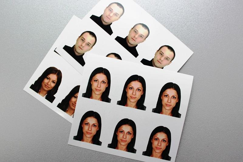 примеры фото на паспорт